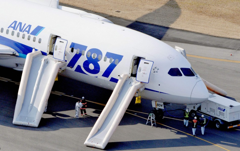 Japanese airlines ground Dreamliner fleet