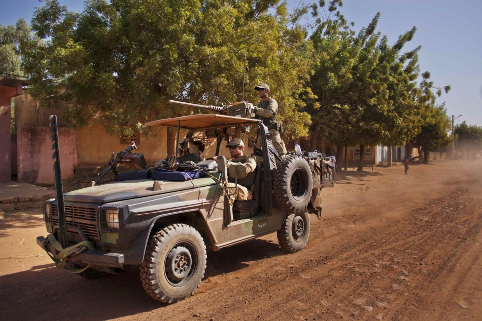 French ground forces in Mali