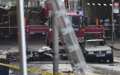 London helicopter crash