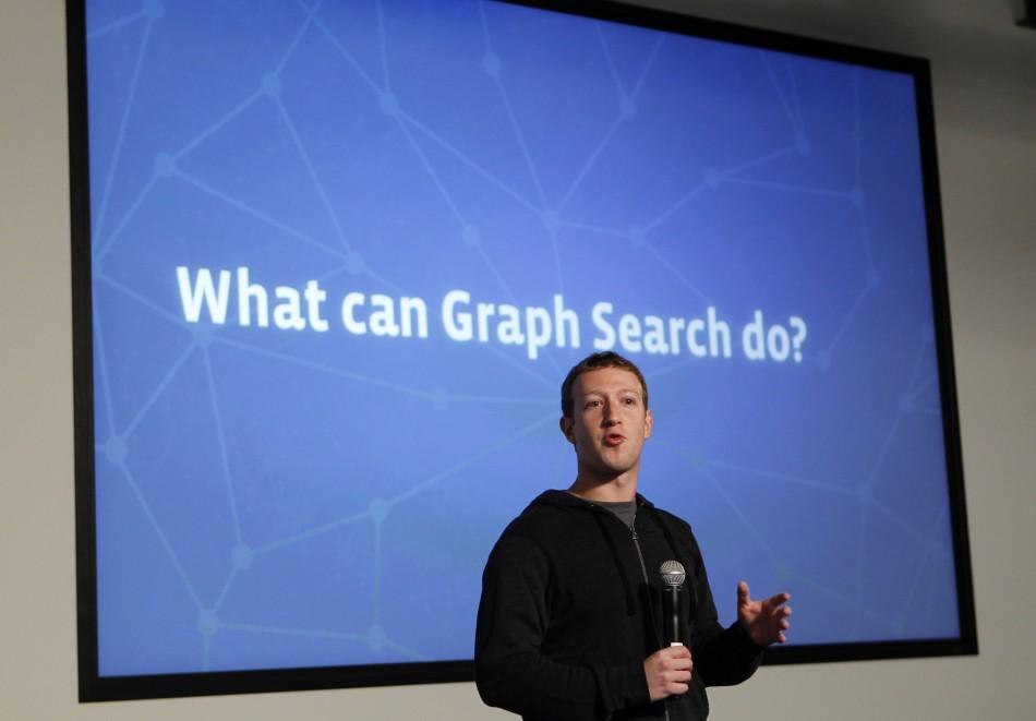 Mark Zuckerberg announces Faceook's Graph Search