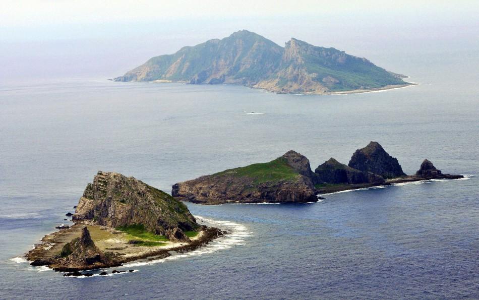 Senkaku Diaoyu  islands
