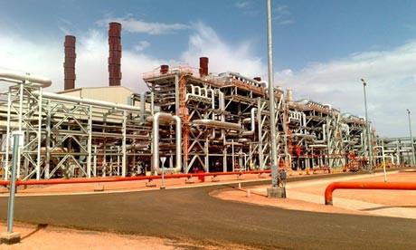 Algeria BP gas facility hostages