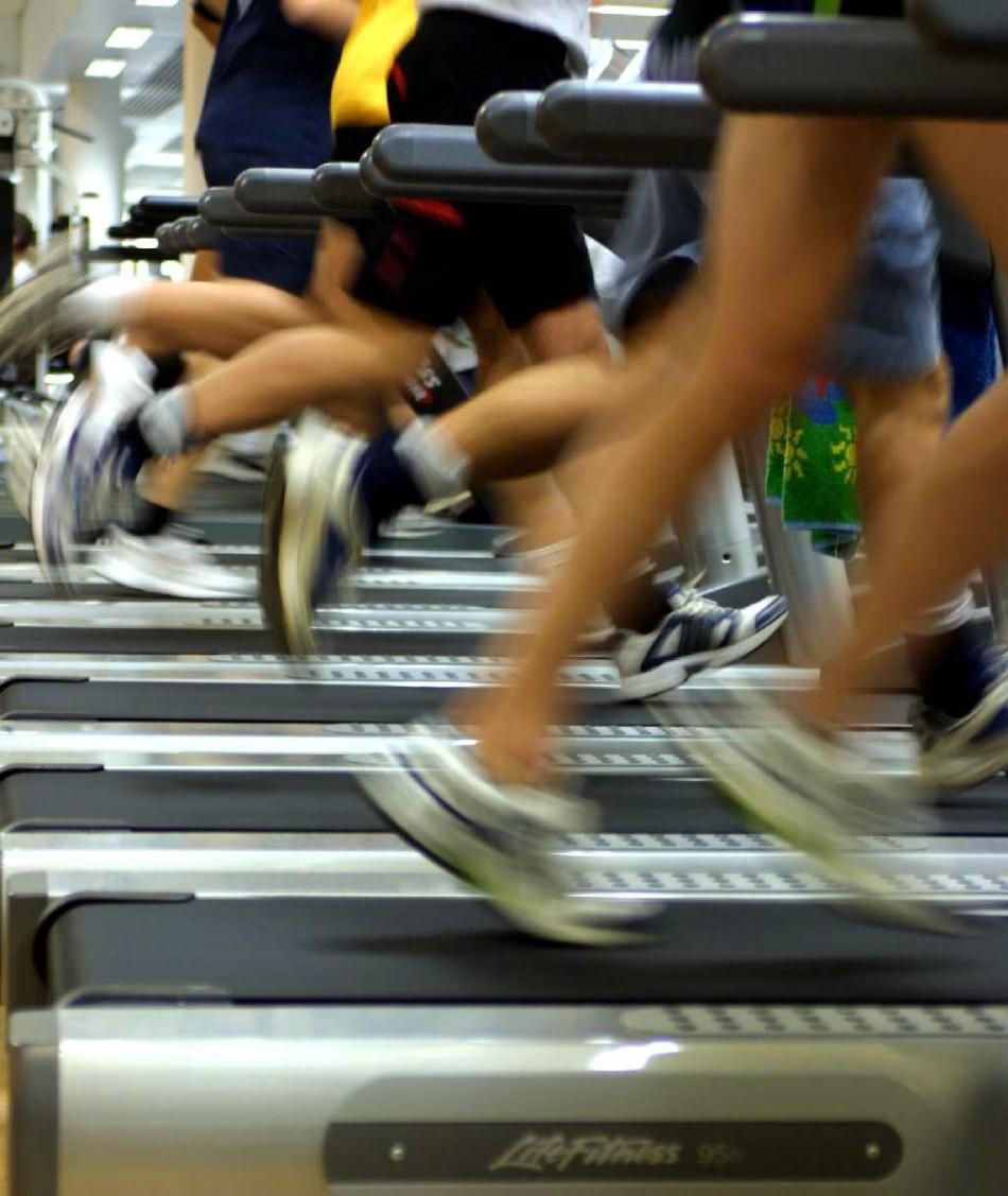 Gym training weight loss