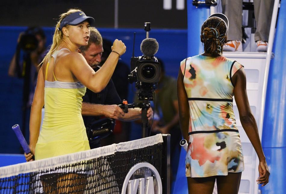 Sharapova - Williams