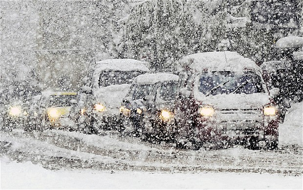 The snow has caused huge travel disruptions across the UK (Reuters)
