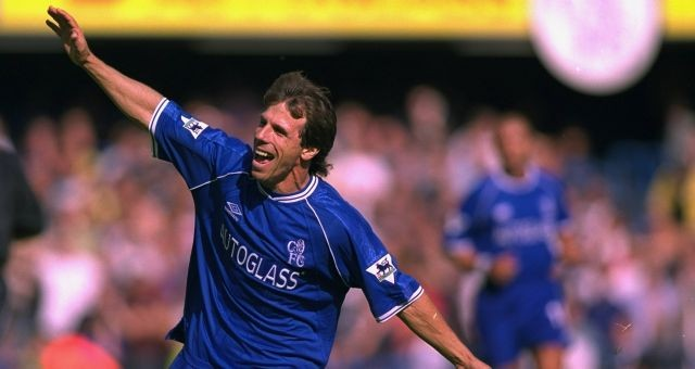 Gianfranco Zola (Source - Chelsea FC)