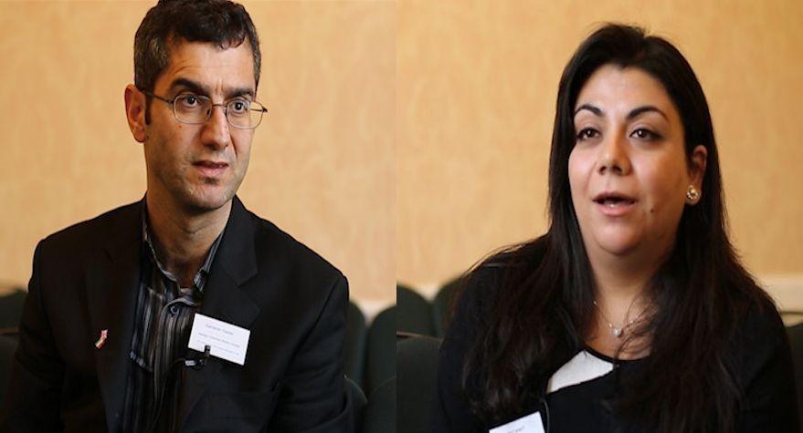 Kamaran Haider and Thana Al Bassam