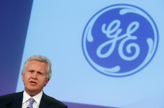 General Electric, Chairman and CEO Jeff Immelt.