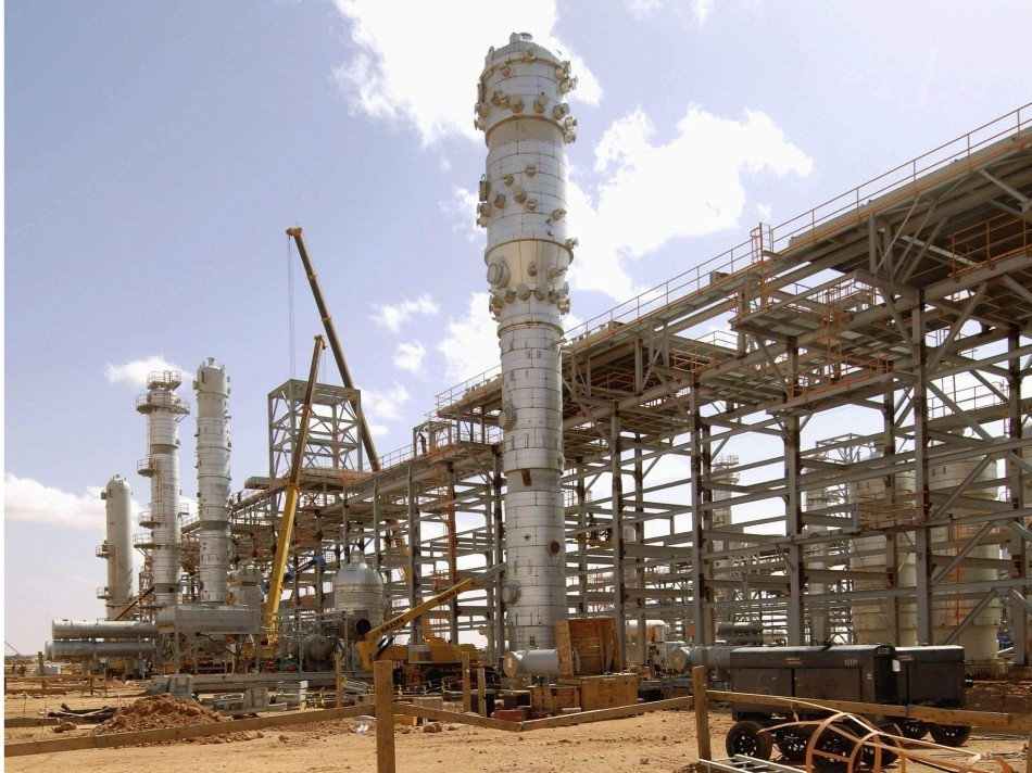 In Amenas gas complex