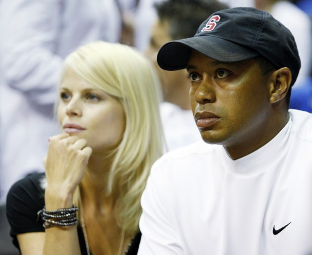 Tiger Woods and Elin Nordegren pictured in 2009 (Reuters)