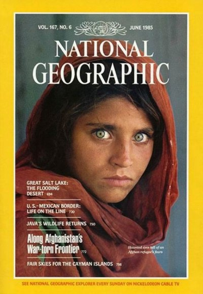 Sharbat Gula - The Afghan Refugee