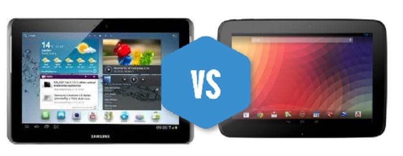 Nexus 10 vs Tab 2 10.1