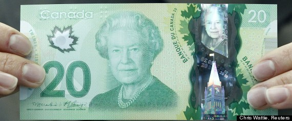 New Canadian $20 note