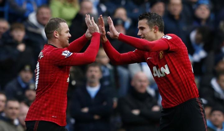 Rooney-Robin van Persie