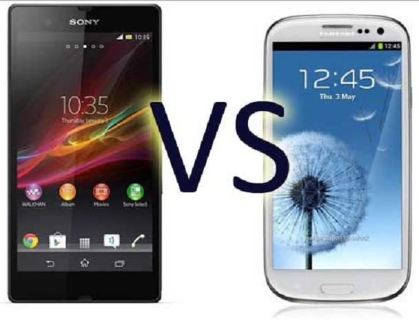 Xperia Z Vs Galaxy S3