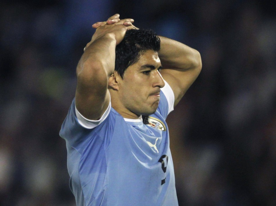 Liverpool ace Luis Suarez is Uruguay star