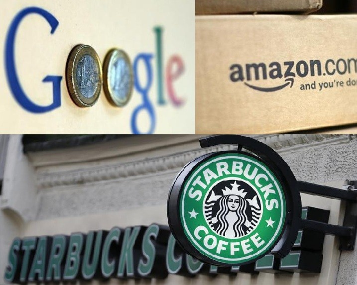 Google, Amazon and Starbucks have all faced criticism over tax avoidance methods (Photos:Reuters)