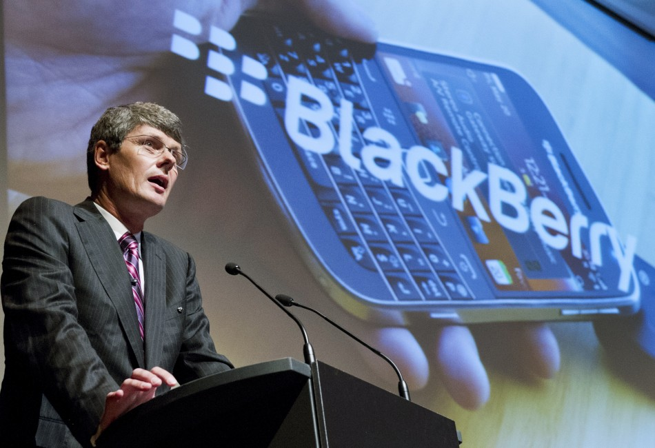 RIM CEO Thorsten Heins Talks BlackBerry 10