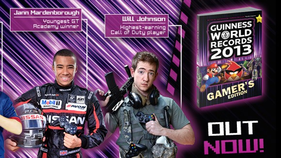 (Photo: Guinness World Records 2013 Gamers Edition)