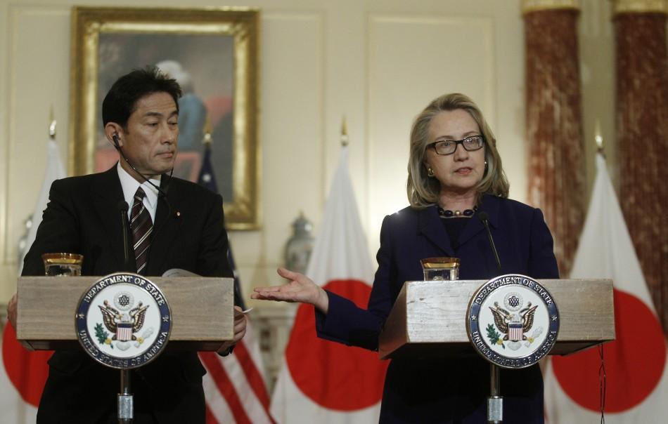 Hillary Clinton Japan