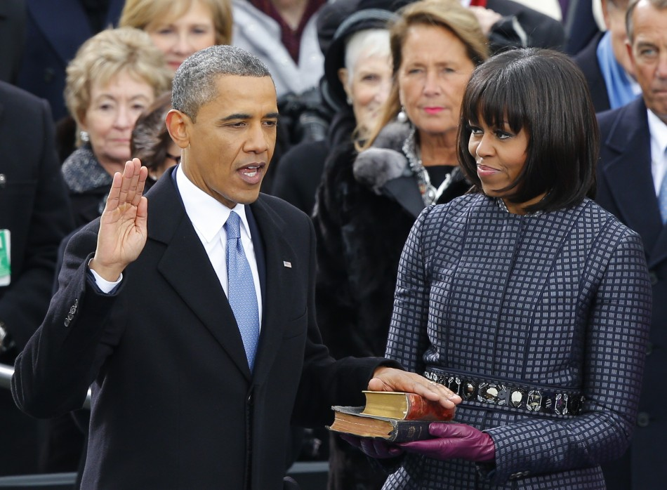 Obama 'the Strong' 2013 Presidential Inauguration: LIVE BLOG
