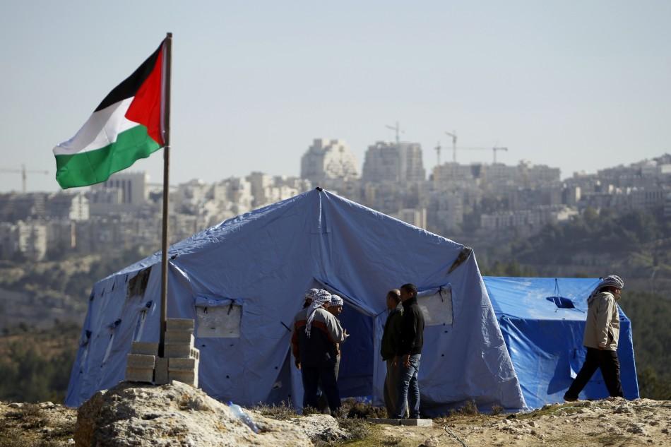 palestinian camp
