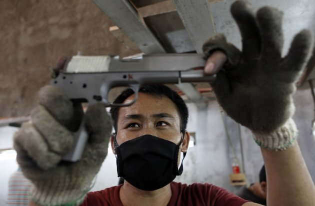 Cebu gun factory