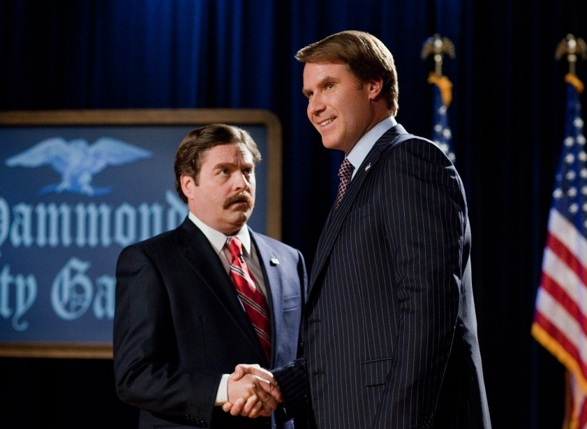 Will Ferrell and Zach Galifianakis The Campaign