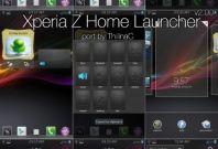 Sony Xperia Z Home Launcher
