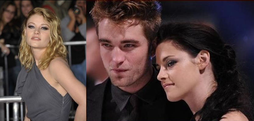 Robert Pattinson Meeting Up With Emilie De Ravin In Australia.