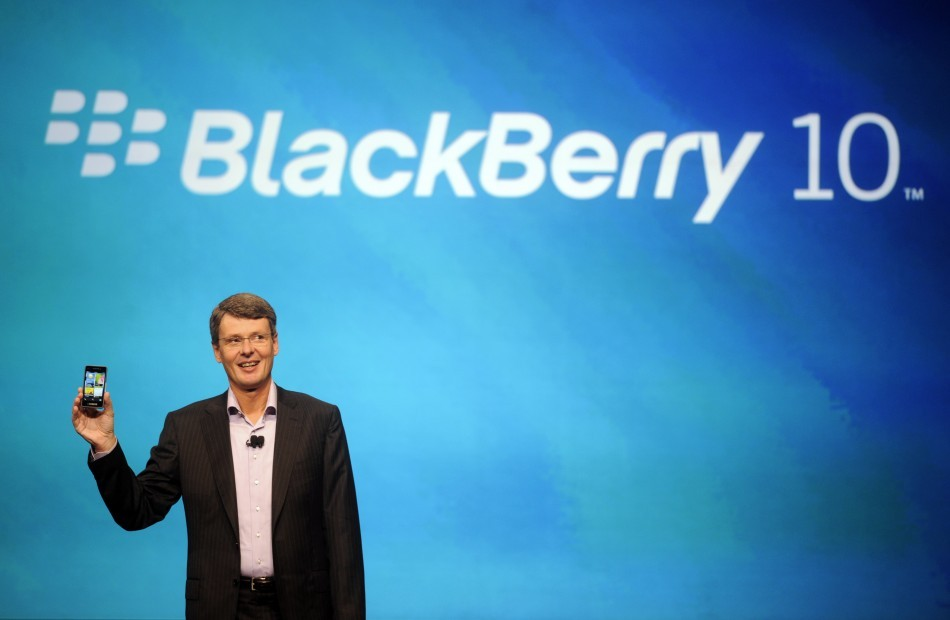 RIM CEO Thorsten Heins Launches BlackBerry 10