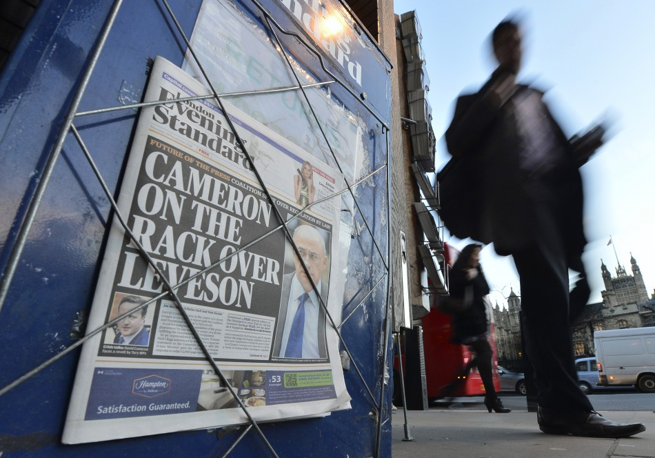 Leveson enquiry storm rumbles on