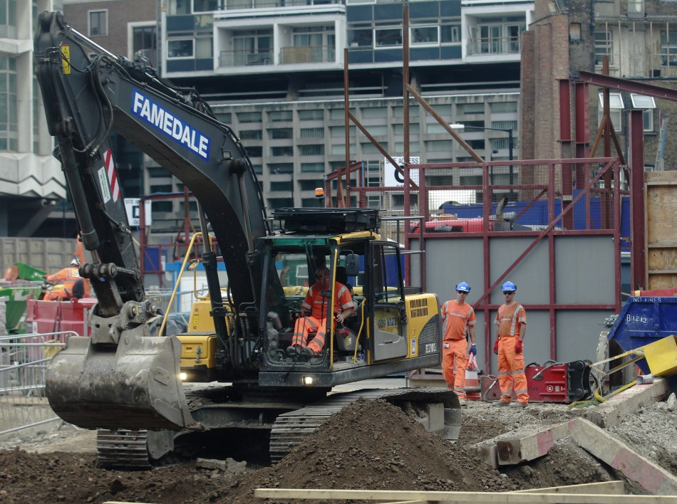 Crossrail has denied blacklisting workers for the central London rail project.  (Reuters)