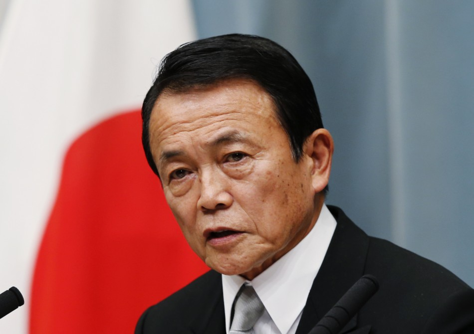 Japan's deputy prime minister Taro Aso is prone to the odd inappropriate remark (Reuters)