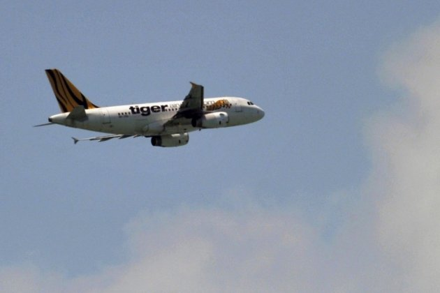 The incident occurred on a Tiger Airways flight from Perth to Singapore (Reuters)