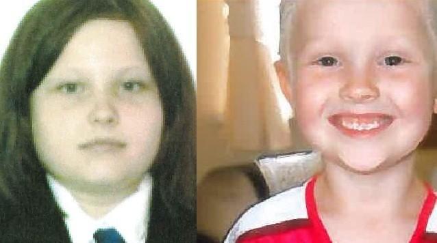 Sophie Fletcher (L) and Jack Fletcher have now been found (West Midlands Police)