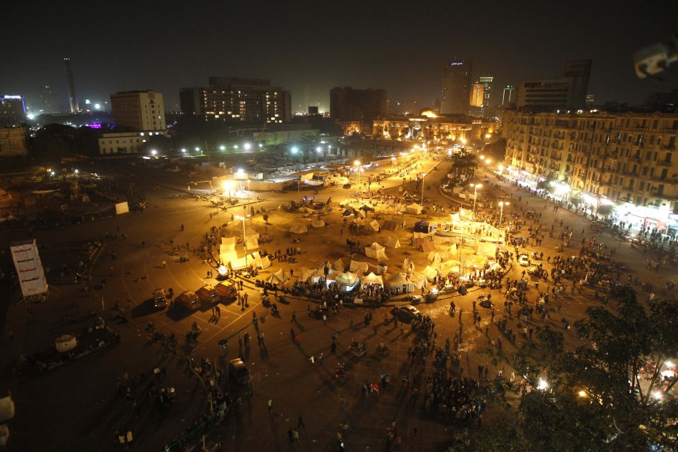 Egypt uprising anniversary protests
