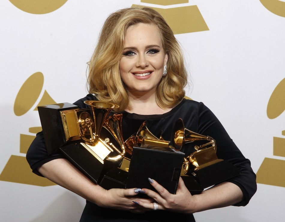 Has Adele Named Her Son Skyfall Singer Wears Necklace