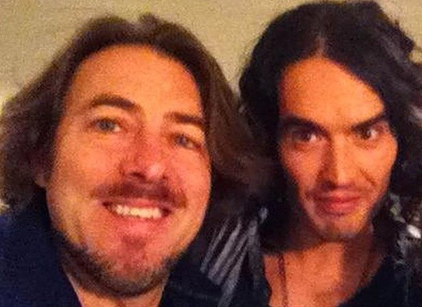 Jonathan Ross and Russell Brand