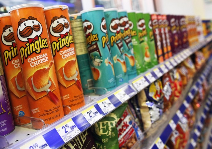 Pringles tubes and Lucozade Sport bottles are 'villains' of recycling industry