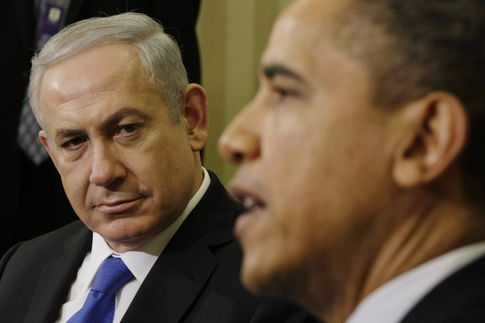 Benjamin Netanyahu and Barack Obama