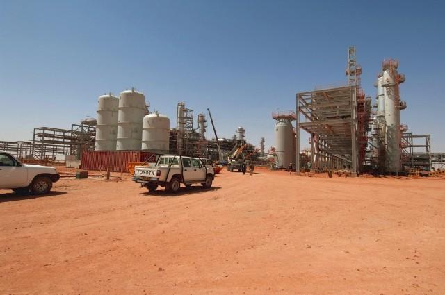 Algeria Amenas Gas Plant