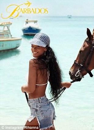 Rihanna in new Barbados advert