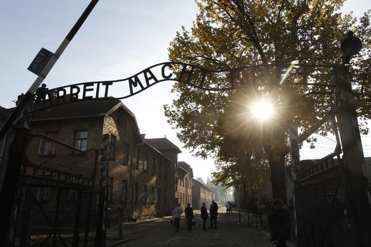 Auschwitz concentration camp (Reuters)