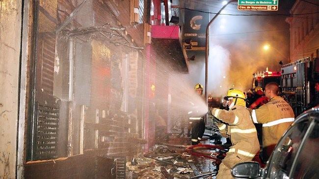 Brazil nightclub blaze