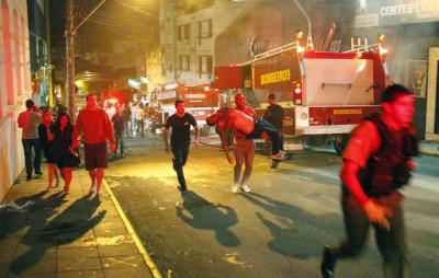 Brazil nightclub fire tragedy