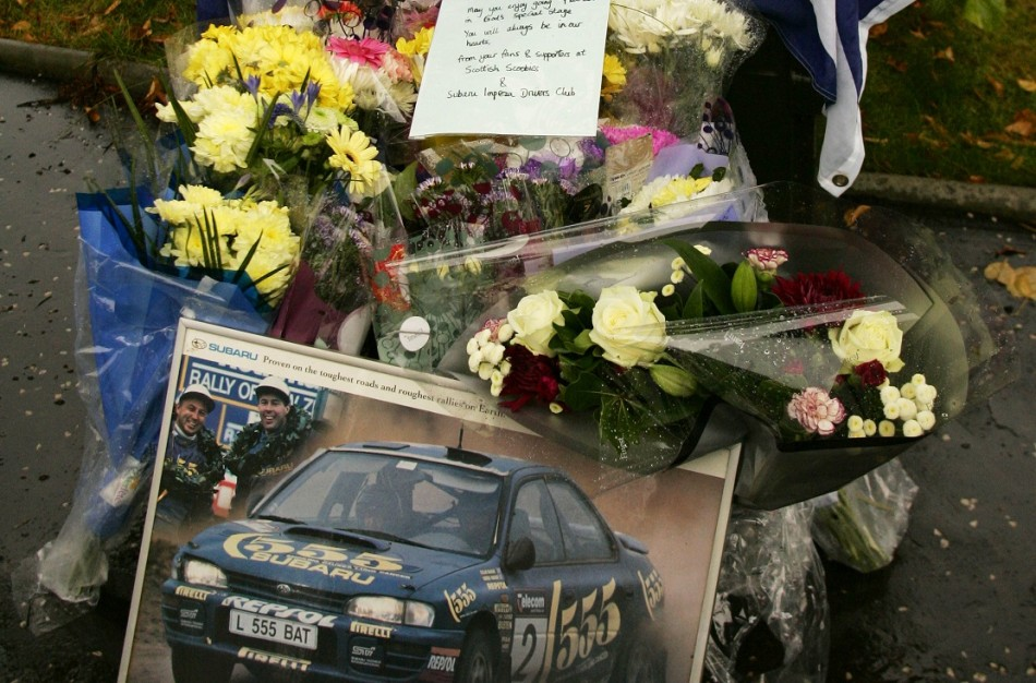 Tributes to McRae after death crash