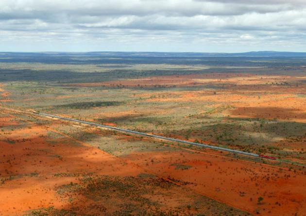 Harsh terrain: Australian outback