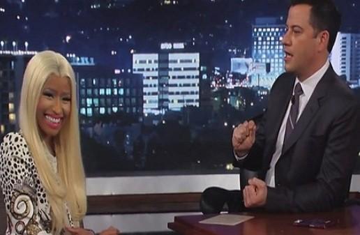 Nicki Minaj on Jimmy Kimmel