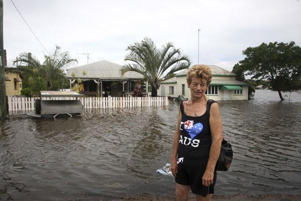 flooding, Queensland